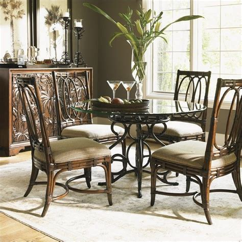 tommy bahama home landara capistrano dining table in rich