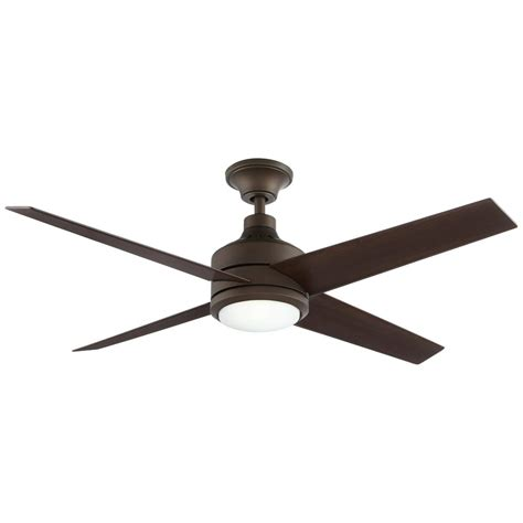 mercer 52 ceiling fan home decorators collection mercer 52 in led oil rubbed