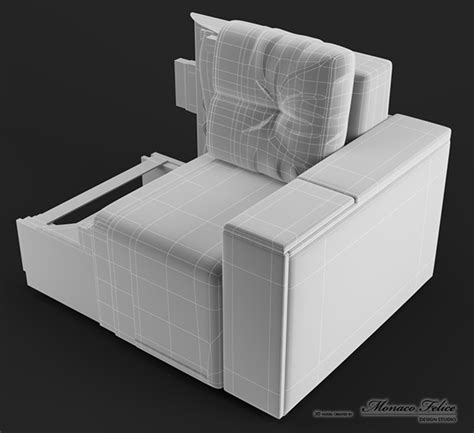 Sofa In The Cross Section On Behance Sofa In Sections