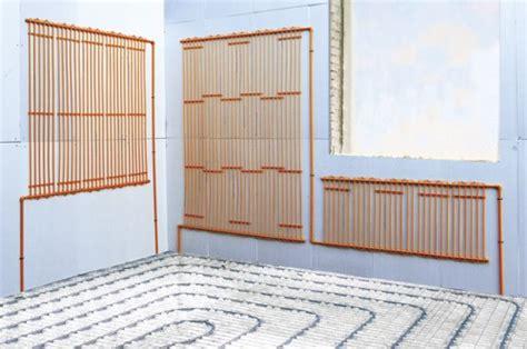 impianti di riscaldamento a pavimento costi pavimento soffitto parete