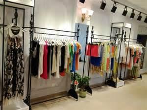 clothing store shelves iron clothing rack clothing store display shelf creative