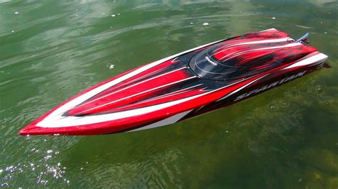 rc boats pictures rc adventures traxxas spartan 6s speed runs radio
