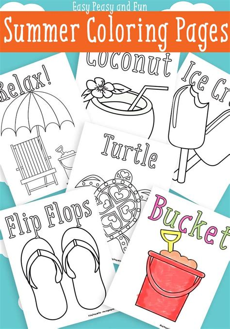 best sheets for summer 25 best ideas about summer coloring pages on pinterest