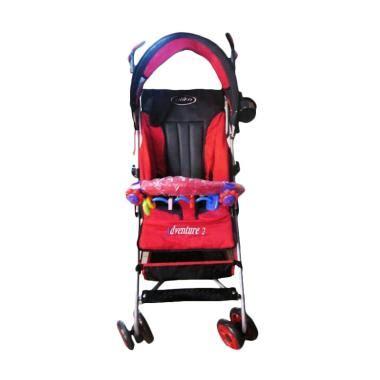 Kereta Dorong Bayi Pliko Adventure 2 jual pliko buggy adventure 2 stroller kereta dorong bayi
