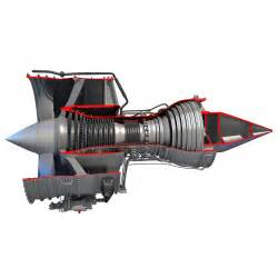 Rolls Royce Turbofan Turbofan Aircraft Jet Engines 3d Models