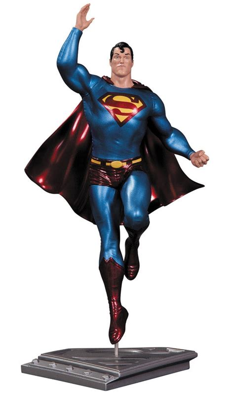 Kaos Superman Of Steel Edition 17 estatua superman the of steel 17 cm frank quitely