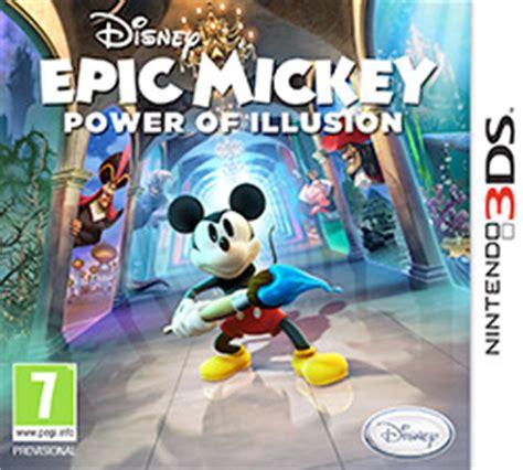 film disney jeux video epic mickey power of illusion wikipedia