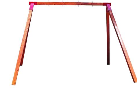 free standing swing frame best quality timber play equipment aarons outdoor living
