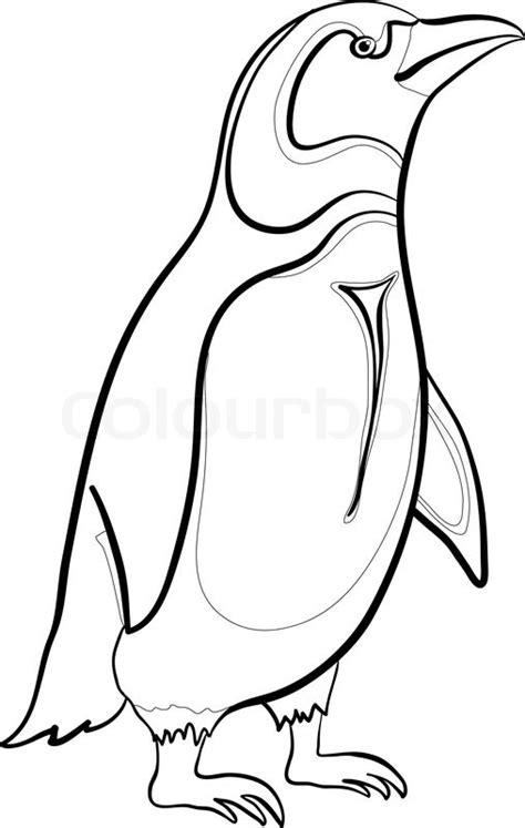 Emperor Penguin Outline by Pics For Gt Emperor Penguin Outline
