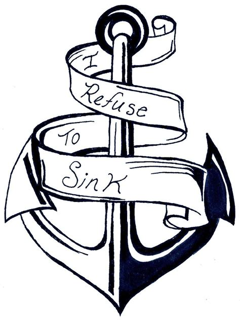 anchor coloring page coloring home