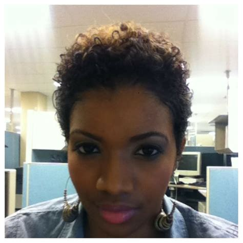 blow out on natural short black tapered 17 best ideas about tapered hair on pinterest tapered