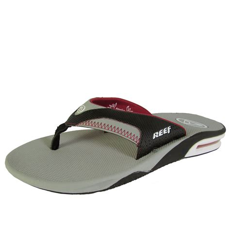 mens reef fanning flip flops sale reef mens fanning thong flip flop sandal shoes