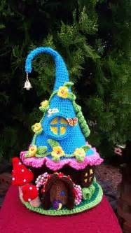 house pattern this is a new handmade crochet gnome house made