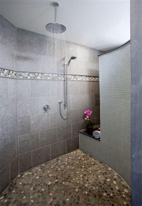 spa inspired master bathrooms bathroom design choose best 20 rock shower ideas on pinterest