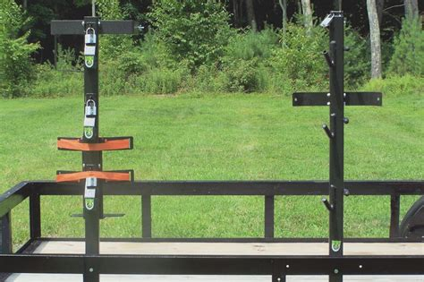 Multi Utility Rack by Shovel Broom And Or Rake Rack Back Pack Blower Trim