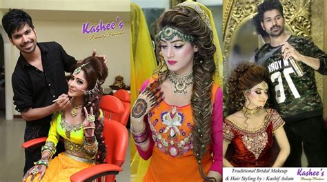 Wedding Hairstyles And Makeup Pictures by Ideas Of Kashees Makeup And Hairstyle Pictures For Brides 2017