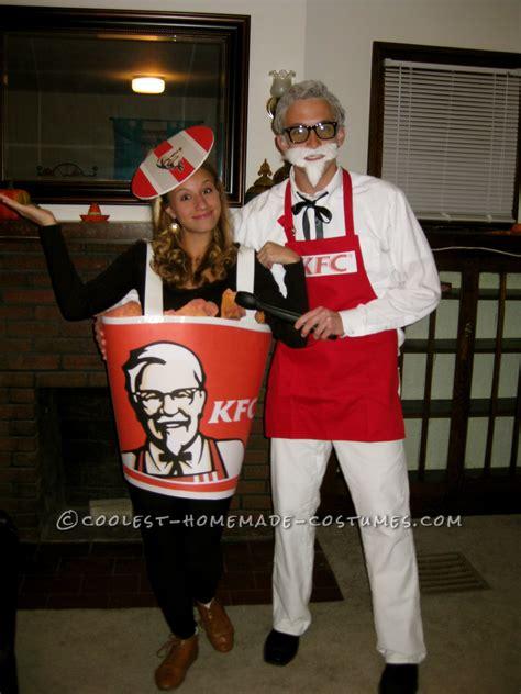 coolest colonel sanders  bucket  fried chicken