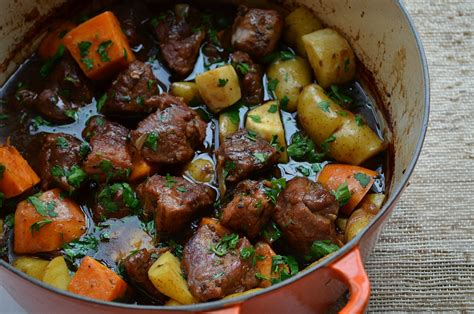 stew ideas pork stew with balsamic and beer three many cooks