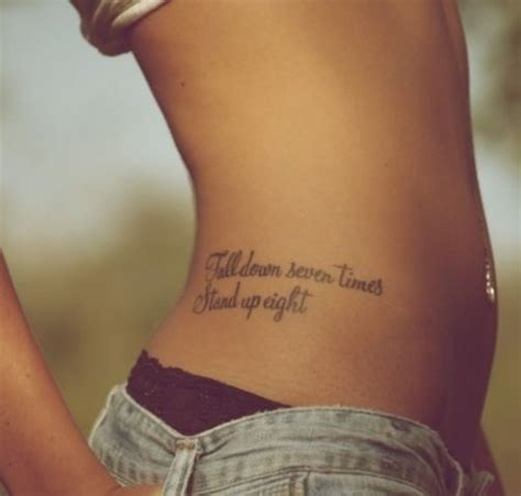 tattoo quotes hips hip tattoo i like the spot but a different quote would