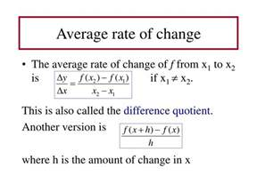 How To Find The Rate Of Change In A Table Ppt 2 4 Rates Of Change And Tangent Lines Powerpoint