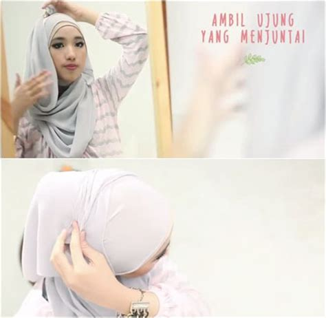 tutorial hijab ala anak muda tutorial kreasi hijab simpel untuk anak muda ala sasa noura