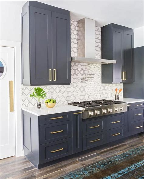 blue kitchen cabinets best 25 blue cabinets ideas on blue kitchen