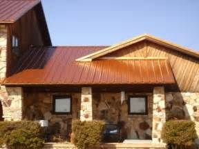 colored metal roofing copper colored metal roof for the home