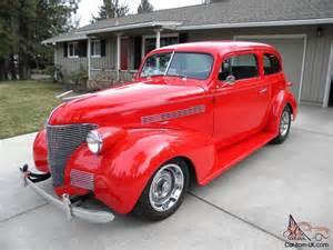 1939 chevrolet two door sedan master deluxe rod rod