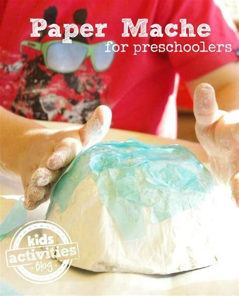 How To Make A Paper Mache Bowl - paper mache for preschoolers paper mache paper and bowls