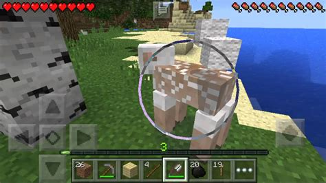 how to make a bed in minecraft pe how to make a bed in minecraft pe survival youtube