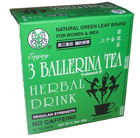 True Detox Tea Reviews by 3 Ballerina Tea Regular Strength 三千金減肥茶 30 Bags Box