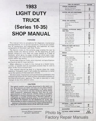 service manual small engine service manuals 1983 chevrolet caprice transmission control 1984 1983 gm buick cadillac chevy pontiac olds small car body service manual factory repair manuals