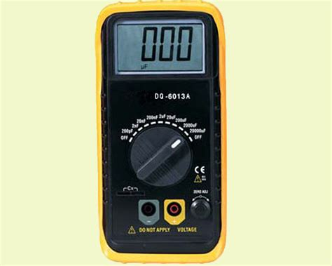 china digital capacitance meter dq 6013a china electronic instruments digital capacitance meter