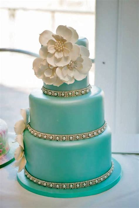 Blue Flower Wedding Cake by 2664 Best Wedding Cakes Images On