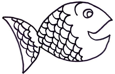 fish coloring page with scales rainbow fish coloring page clipart panda free clipart