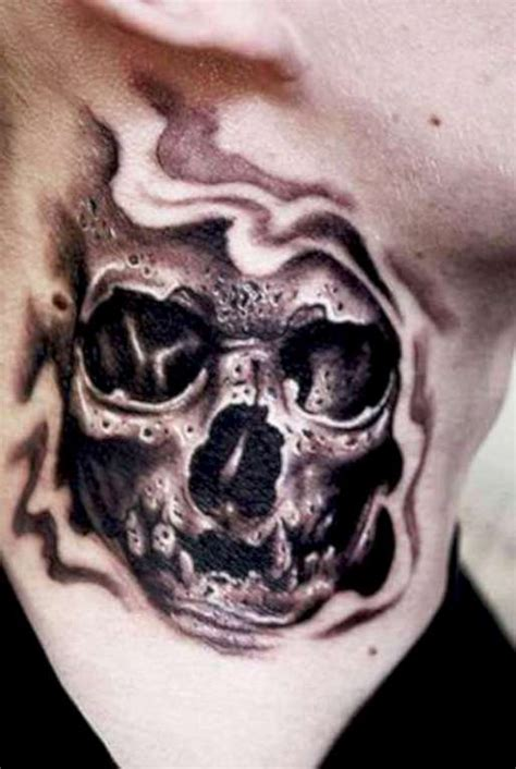 tattoo neck skull flames and sword skull tattoos on forearm 187 tattoo ideas