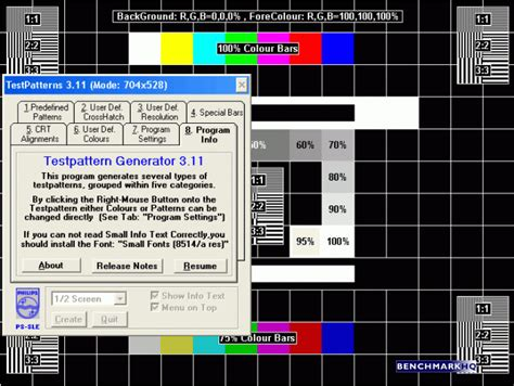 test pattern generator download philips test pattern generator