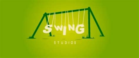 swing logo illustrated logos clever ways of bringing a brand to