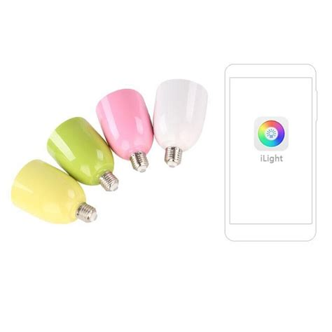 Smart Multicolor Bulb Bluetooth Speaker smart multicolor bulb bluetooth speaker white jakartanotebook