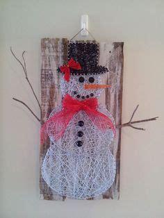 Mit Kindern Zu Weihnachten Basteln 5969 by Made To Order Snowman String Sign