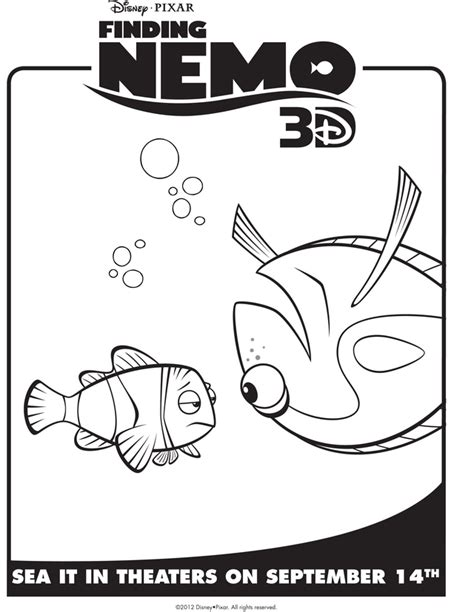 finding nemo coloring pages marlin marlin coloring pages finding nemos dory grig3 org