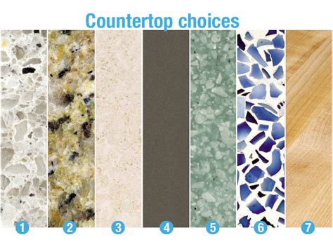 Countertop Material Cost Comparison by The Best Countertops For Busy Kitchens Consumer Reports