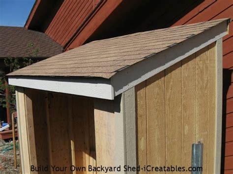 lean  shed plans easy  build diy shed designs