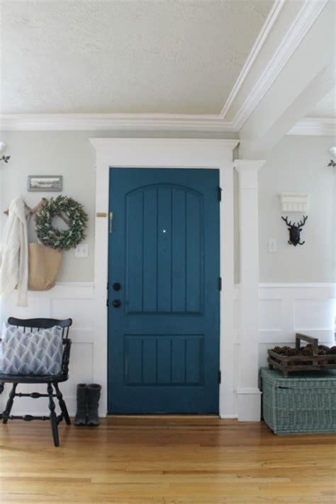 what color to paint doors painted interior door the wicker house