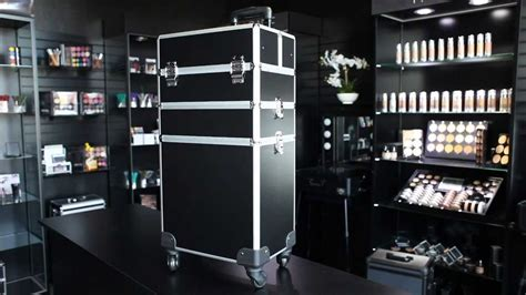 Hair Stylist Travel On Wheels by Reality 3 Rolling Makeup With Large Lower