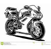 Illustration De Vecteur Moto Sport