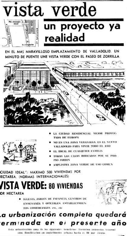 El frustrado sueño de la ciudad-jardín de Valladolid