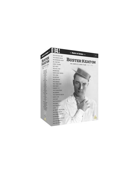 The Complete Buster Keaton Short Films 1917-1923 Box Set