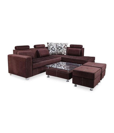 Sofa Camry furnitech camry fabric l shaped 5 seater sofa