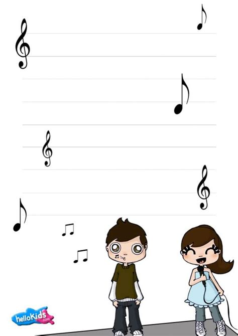 song writing paper how to craft themed writing paper hellokids
